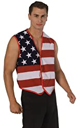 Rubie's Costume Men's Stars and Stripes Vest