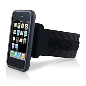 Marware SportShell Convertible Arm Band for iPhone 3G, 3G S (Black)