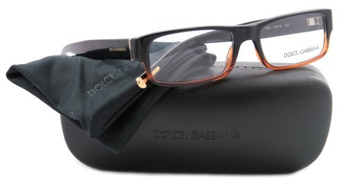 Eyeglasses Dolce & Gabbana DG3104 1860 BROWN GRADIENT DEMO LENS