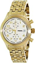 Fossil Compass Stainless Steel Watch Gold-Tone