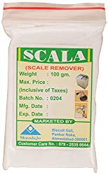 Scala White Scale Remover Powder, 100 g (Set of 3)