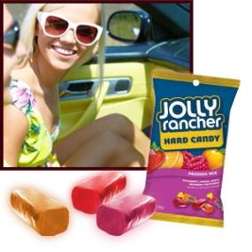 Jolly Rancher Hard Candy in Passion Mix Flavors