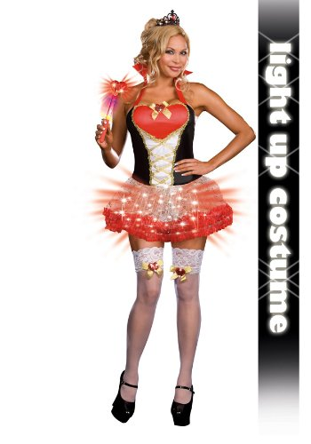Queen of Heartbreakers (Light-Up) Plus Adult Costume