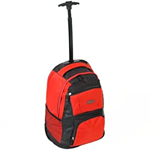 Cabin Approved Wheeled Backpack Red by Karabar