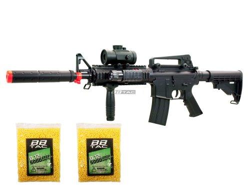BBTac M83 Airsoft Gun Full Auto Electric Power LPEG Airsoft Gun with Warranty (Air Rifle Silencer compare prices)
