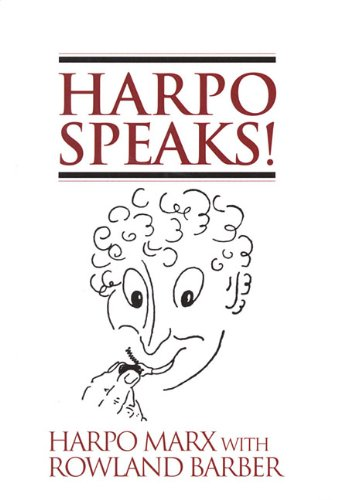 Harpo Speaks! autobiography of Harpo Marx
