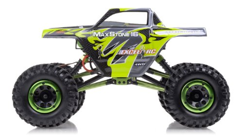 1/16th Scale 2.4Ghz Exceed RC MaxStone 4WD Powerful Electric Remote Control Rock Crawler 100% RTR