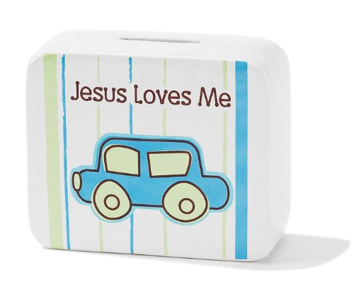 Dicksons Jesus Loves Me Coin Bank, Car