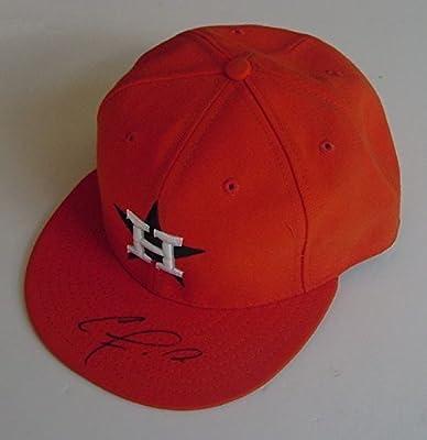 Carlos Correa Houston Astros Autographed Signed Cap Hat JSA COA