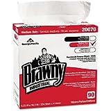 Brawny Industrial® 20070/03 - MEDIUM-DUTY PREMIUM WIPES, 9 1/4 X 16 3/8, WHITE, 90/BOX, 10/CARTON