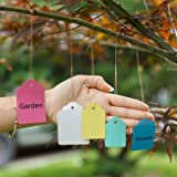 50pcs Gardening Plant Waterproof Hanging Tags Flower Vegetable Planting Label Tools-size5x7cm