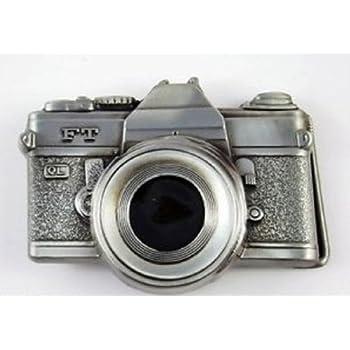 35 Mm Classic Fim Camera Photography 3D Belt Buckle