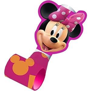 Minnie Mouse Blowout Party Favors  8 Ct