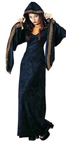 Rubie's Costume Adult Midnight Priestess Costume, Large, Black