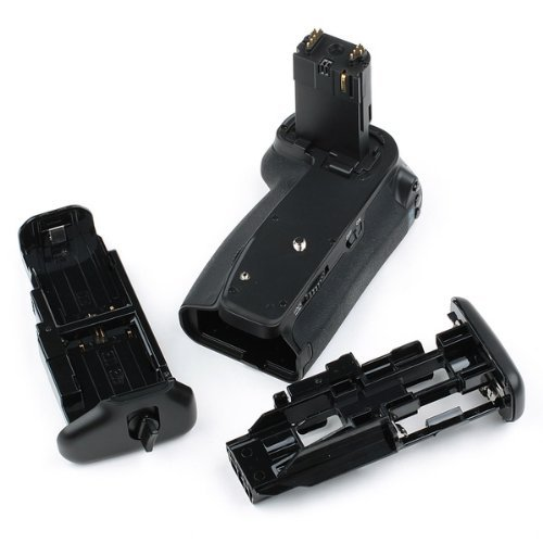 Meike MK Vertical Multi-Power Canon BG-E13 Compatible Battery Grip for Canon EOS 6D w/ One LP-E6 Compatible Lithium Ion Battery and RC-6 Remote