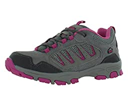 Pacific Trail Alta Jr Girls Hiking Boots Size US 13, Regular Width, Color Grey/Pink