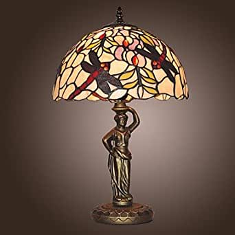 dragonfly pattern stained glass table lamp outdoor table lamps. Black Bedroom Furniture Sets. Home Design Ideas