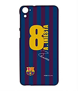 Block Print Company JERSEY INIESTA Phone Cover for HTC 826