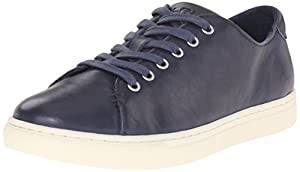 Lauren Ralph Lauren Women's Waverly Fashion Sneaker, Modern Navy, 8 B US
