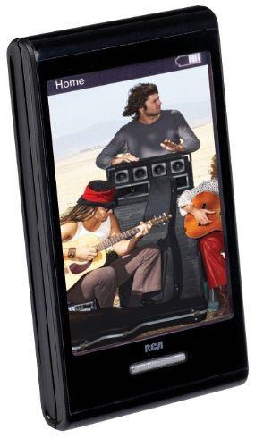 RCA M7208 8 GB Video MP3 Player with 2.8-Inch Touch Screen Display
