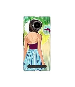 Kolor Edge Printed Back Cover for Micromax Yu YuPhoria - Multicolor (4396-Ke10832MmxYuphoriaSub)