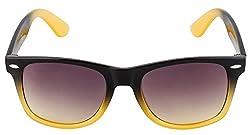 Colorway Wayfarer Yellow Gradient Sunglasses (Cw-4301)
