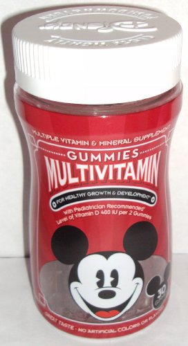 Disney Gummies Multivitamin 30 Gummies
