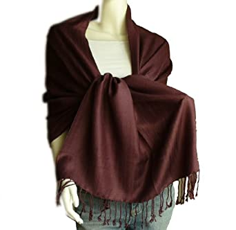 New Best Soft Pashmina/Shawl/Scarf/Wrap/Stole (brown)