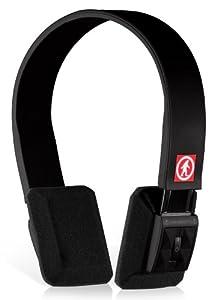 Outdoor Tech OT1100 DJ Slims Wireless Bluetooth Headphones (Black)
