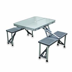 Picnic time portable folding table with - Table de jardin amazon ...