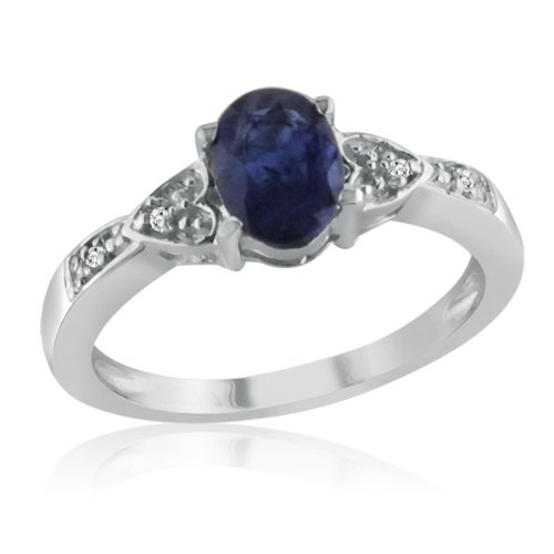 cherished diamond t promise collection sapphire gold rings ring v ct cluster w blue twotone and tw p
