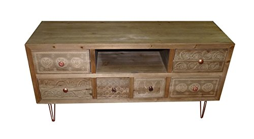 "Art.IN33 Mobile Porta Tv ""Wooden Tv Stend"""