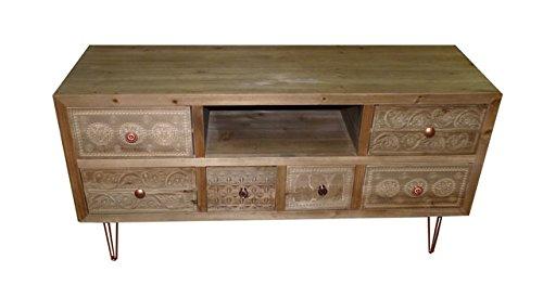 "Art.IN33 Mobile Porta Tv ""Wooden Tv Stend"""