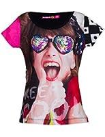 Desigual Artozqui - T-shirt - Imprimé - Manches courtes - Fille