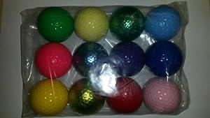 Multi Color Golf Balls (1 Dozen)