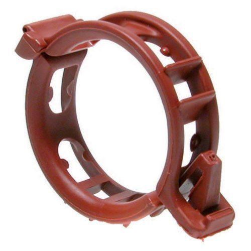 Twine Clips Mega - 25 mm Terracotta - Pack of 100