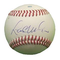 Lloyd McClendon Autographed Signed Rolb Baseball, Seattle Mariners, Pittsburgh...
