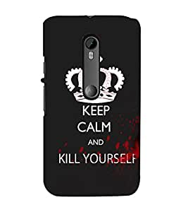 Ebby Premium Printed Mobile Back Case Cover With Full protection For MotoXForce (Designer Case)