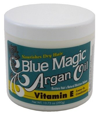 Blue Magic Argan Oil&Vitamin-E Leave-In 13.75Oz Jar
