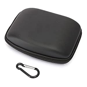 (12560-i) HARD SHELL CARRY BAG ZIPPER POUCH FOR 5INCH SAT NAV GPS