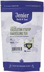 Jenier Castleton FTGFOP Second Flush Darjeeling Black Loose Tea 100 g