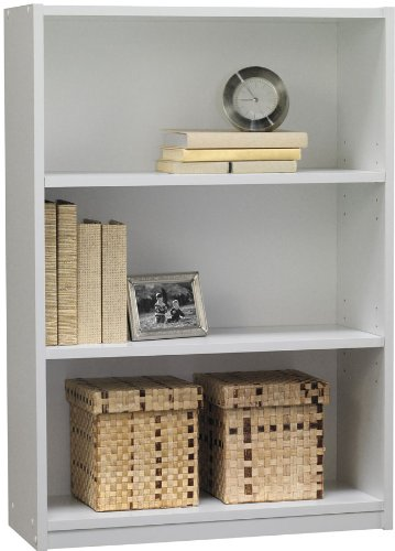 Ameriwood 3-Shelf Bookcase, White Stipple (3 Shelf Bookshelf compare prices)