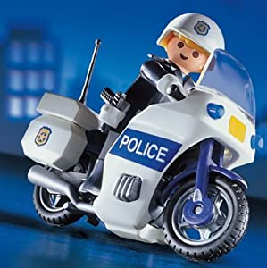 playmobil 3986 policiers motard de police jeux et jouets. Black Bedroom Furniture Sets. Home Design Ideas