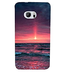 PRINTSHOPPII NATURE Back Case Cover for HTC One M10