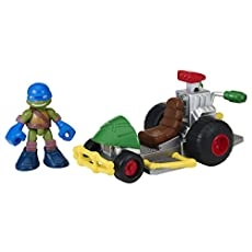 Teenage Mutant Ninja Turtles Half Shell Heroes Patrol Buggy w/ Racer Leo
