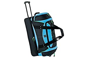 Go Explore Urban 2 Wheeled Holdall - Black And Blue