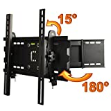 "ATC Universal LCD LED Plasma Articulating Swivel Arm TV Wall Mount 23 32 37 40 42 / 23"" - 42"" from US"