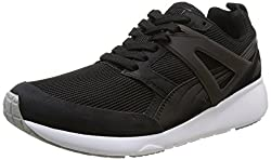 Puma Mens Aril Black-White Running Shoes - 9 UK/India (43 EU)