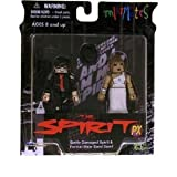 The Spirit Movie Minimates 2-Pack Battle Damaged Spirit and Formal Wear Sand ...