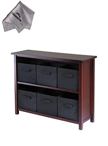 verona-2-section-w-storage-shelf-with-6-foldable-black-fabric-baskets-and-with-chanasya-polish-cloth